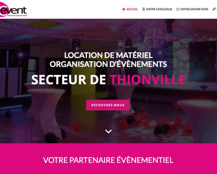 ScreenShoot Pic-Event Website 2016
