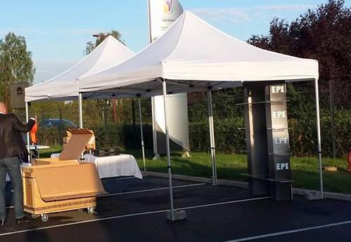 location barnum tente pliante 3x3m pic event. Black Bedroom Furniture Sets. Home Design Ideas