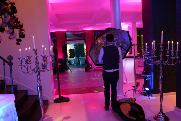 Pic-Event Location chandelier Argent 150cm
