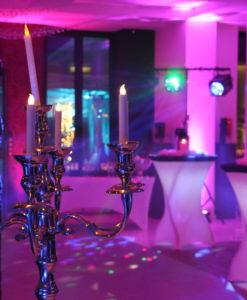 Pic-Event Location chandelier Argent 150cm