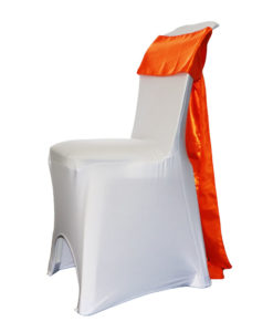 Location pack chaise housse chaise lycra blanche noeud satin