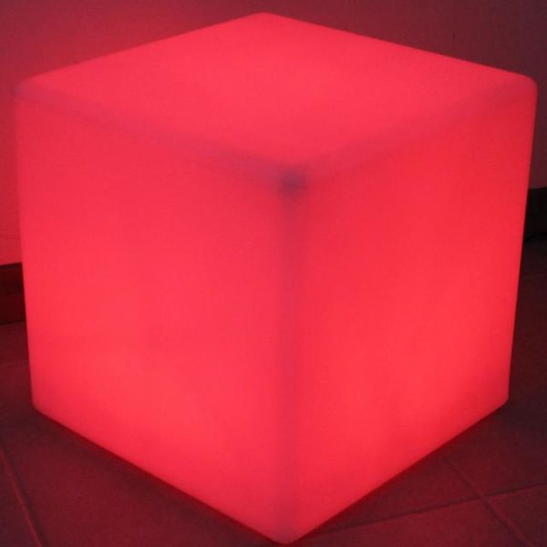 Pic-Event location cube lumineux led