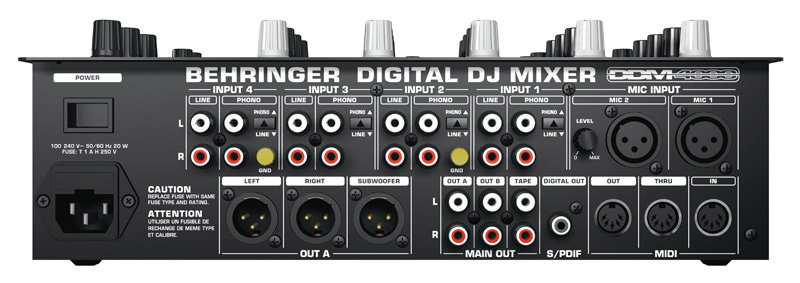 Location Table De Mixage Dj Behringer Ddm4000 Pic Event