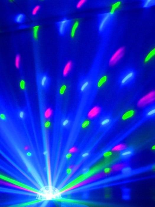 Location effet lumiere boule LED