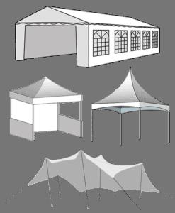 Tente de réception / Barnum