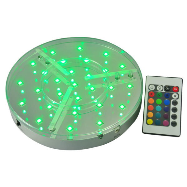 Pic-Event location base led rechargeable batterie 20cm