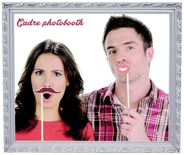 Pic-Event Location Cadre PhotoBooth Gris