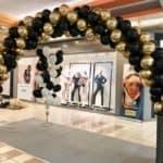 Installation de nos arches à ballons