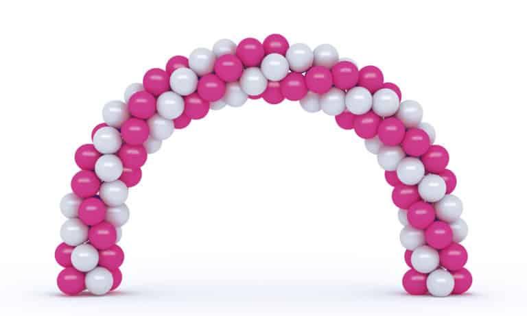 Pic-Event Decoration Arche Ballons Rose